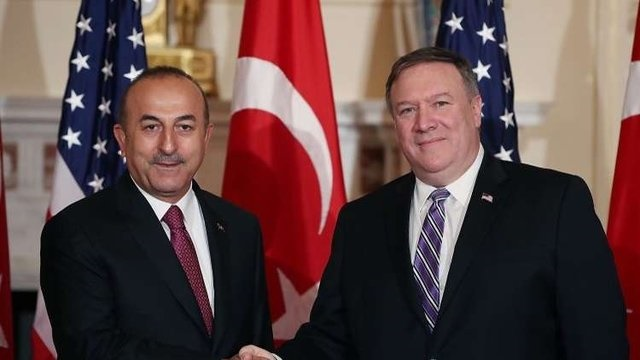 وزیران خارجه آمریکا و ترکیه برای حل اختلافات توافق کردند