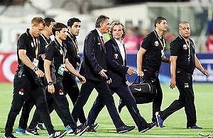 مربیان تیم ملی فوتبال وارد ایران شدند