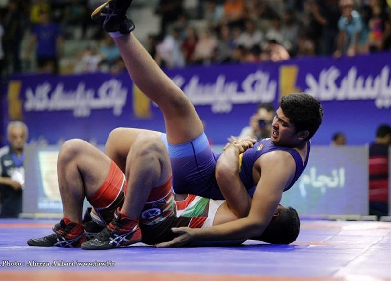 تیمهای ایران قهرمان نخستین دوره پیکارهای کشتی نونهالان آسیا شدند