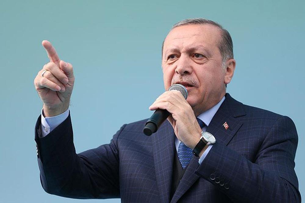 اردوغان از تحریم متقابل وزیران آمریکا در ترکیه خبر داد