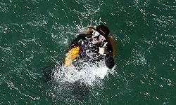 رکورد جهانی نجات غواص مصدوم توسط تیم ارتش ایران شکسته شد