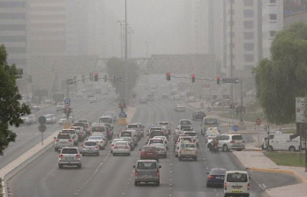 گرد و غبار امارات را مختل کرد
