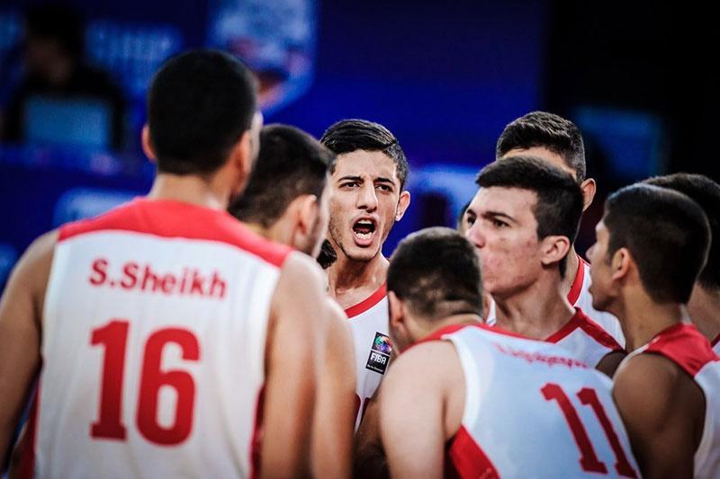 بسکتبال جوانان آسیا/ پیروزی تیم ملی ایران مقابل اندونزی