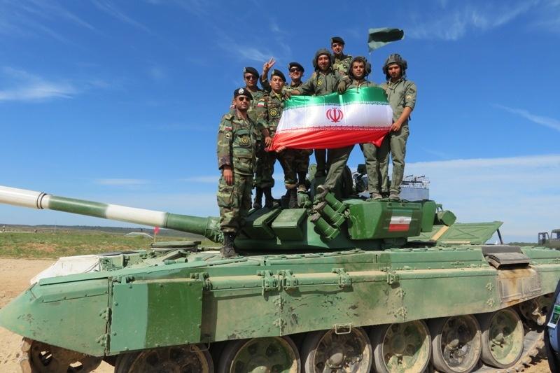 تیم بیاتلون تانک ایران وارد نیمه نهایی مسابقات جهانی شد