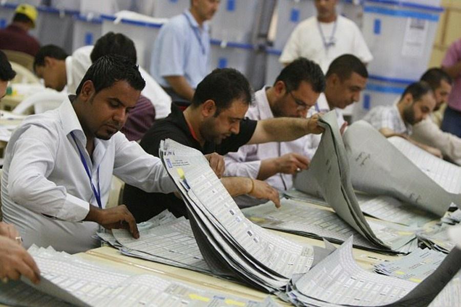 بازشماری آرای انتخابات پارلمانی عراق پایان یافت