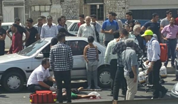 تیراندازی در قزوین