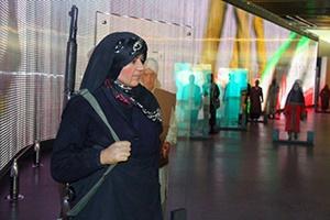 تندیس اقوام ایرانی در موزه انقلاب و دفاع مقدس نصب شد