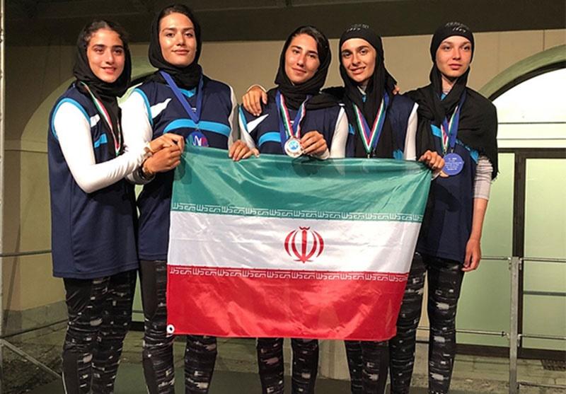 تیم رفتنیگ بانوان زیر ۱۹ سال ایران سوم جهان شد