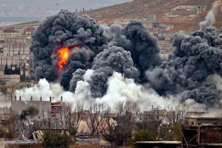 عفو بین الملل: آمریکا دررقه سوریه مرتکب جنایت جنگی شده است