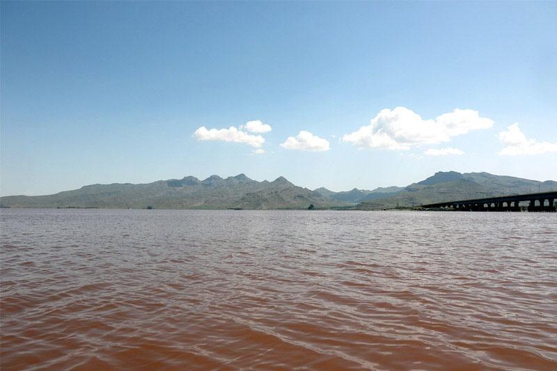 مساحت دریاچه ارومیه نسبت به سال گذشته ثابت ماند