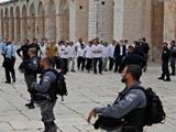 شهرک نشینان صهیونیست به مسجد الاقصی یورش بردند