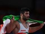 کریمی دومین طلا را برای ایران به ارمغان آورد | ۲ طلا و یک برنز برای آزادکاران در ۵ وزن
