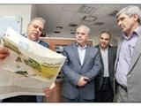 بازدید معاون مطبوعاتی وزارت ارشاد از روزنامه همشهری