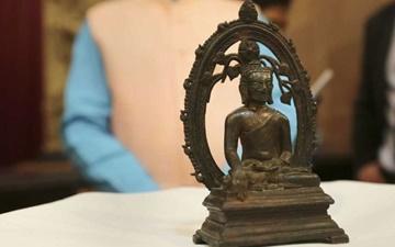 بازگشت مجسمه مسروقه بودا به هندوستان