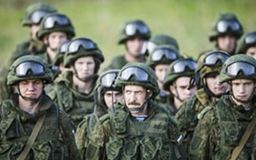 بزرگترین مانور نظامی روسیه بعد از فروپاشی شوروی