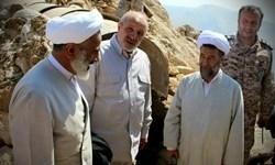 نماینده ولی فقیه در سپاه ازیگانهای قرارگاه حمزه در ارتفاعات شمالغرب بازدید کرد
