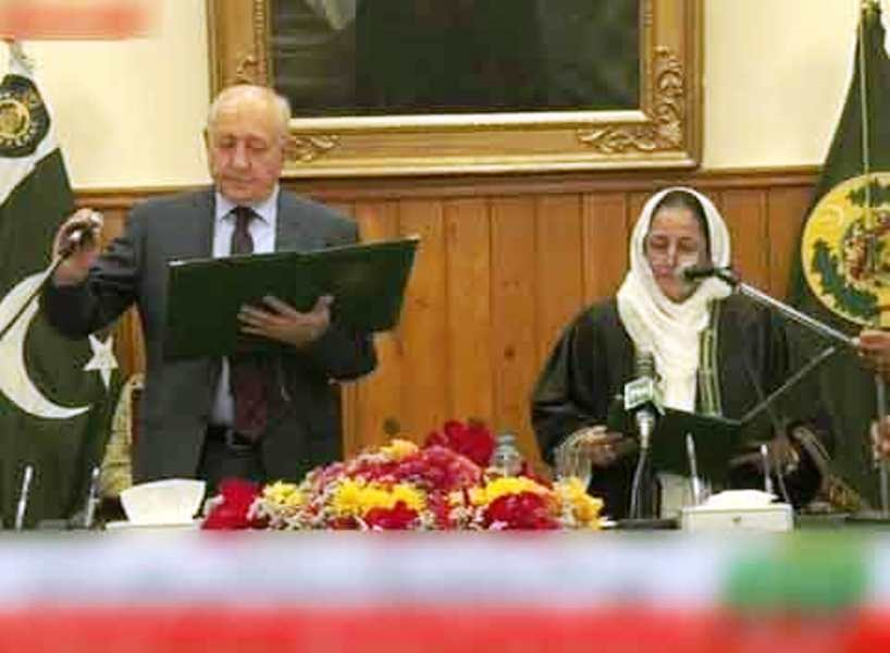 یک زن، رئیس دادگاه عالی ایالتی پاکستان شد