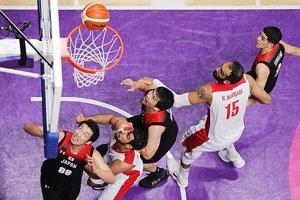 مدال نقره آسیایی جاکارتا برای بسکتبال ایران