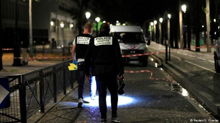 زخمی شدن ۷ نفر در پاریس با ضربات چاقو یک مهاجم