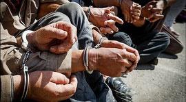 دستگیری اوباش تهران