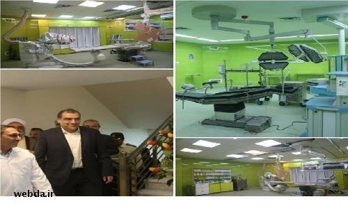 افتتاح پروژه های درمانی در مراغه