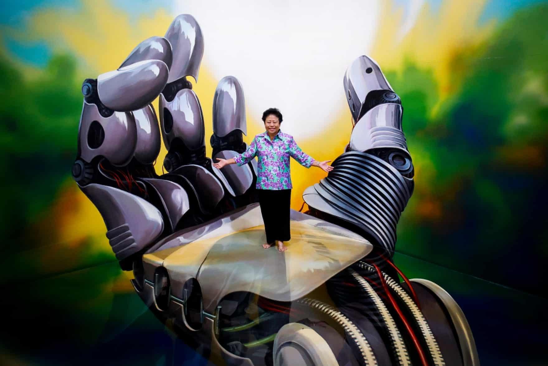 عکس روز: درون نقاشی سهبعدی