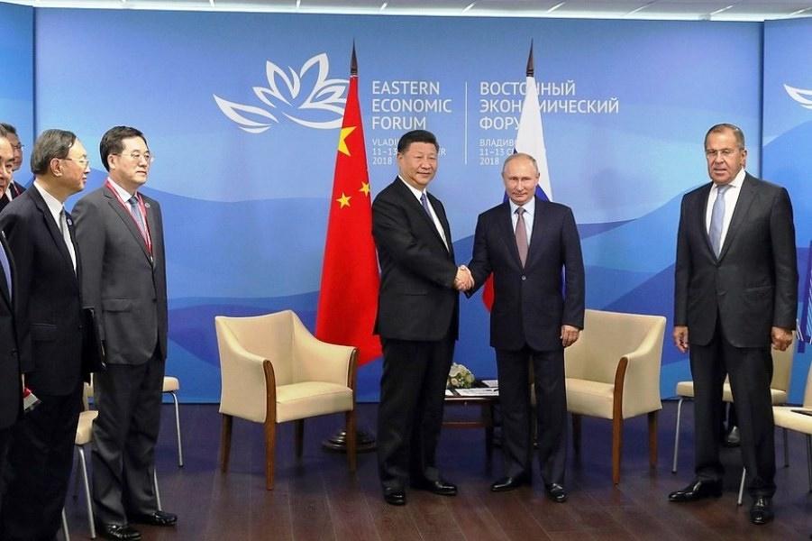 دیدار پوتین با جین پینگ | روسیه و چین بر گسترش روابط تاکید کردند