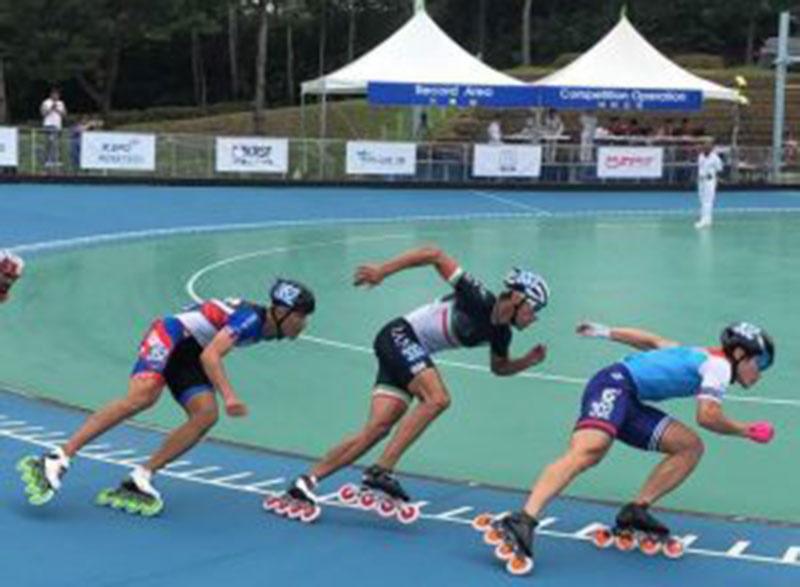 اسکیت قهرمانی آسیا | کره جنوبی؛ مدال برنز سرعت بر گردن صالحی