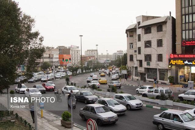 افزایش موقتی غلظت ذرات معلق در هوای تهران