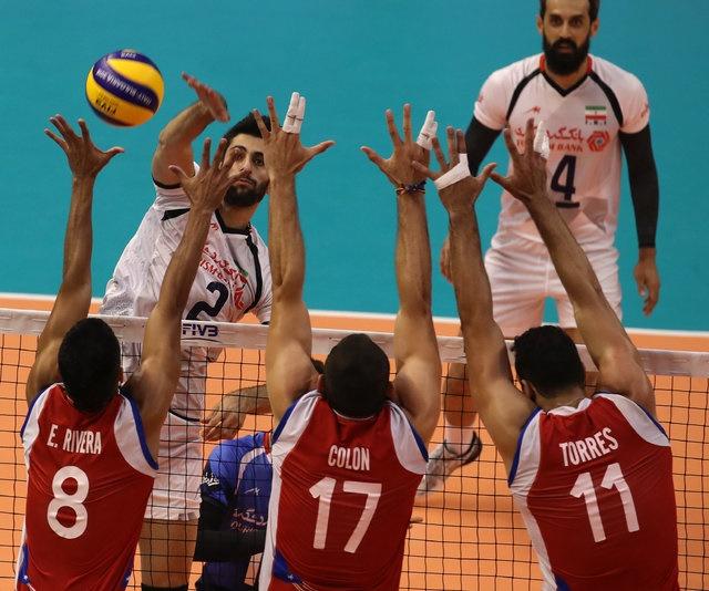 آغاز مقتدرانه والیبال ایران در قهرمانی جهان با شکست پورتوریکو