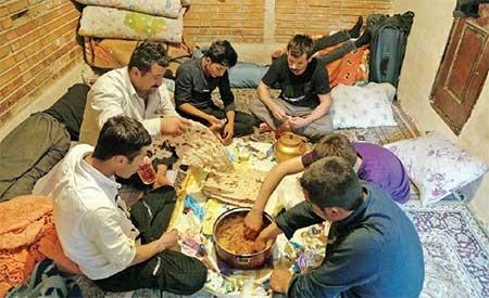 نان بخور و نمیر در سفره کارگری