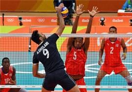 مسابقه والیبال ایران و کوبا پخش نشد