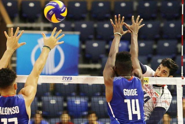 والیبال  قهرمانی جهان | سومین پیروزی ایران با شکست کوبا