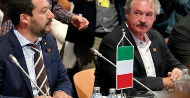 جدال لفظی وزیر کشور ایتالیا با وزیر خارجه لوکزامبورگ بر سر مهاجران