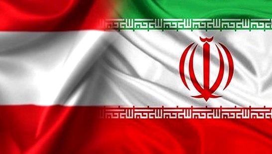 پرچم ایران - اتریش