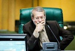 روایت لاریجانی از تماس با ظریف پس از استعفا