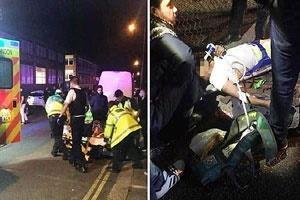 حمله با خودرو به تجمع عزاداران حسینی در لندن | ۵ نفر زخمی شدند