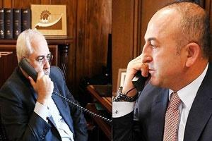 تبادل نظر وزرای خارجه ایران و ترکیه در خصوص توافق ادلب