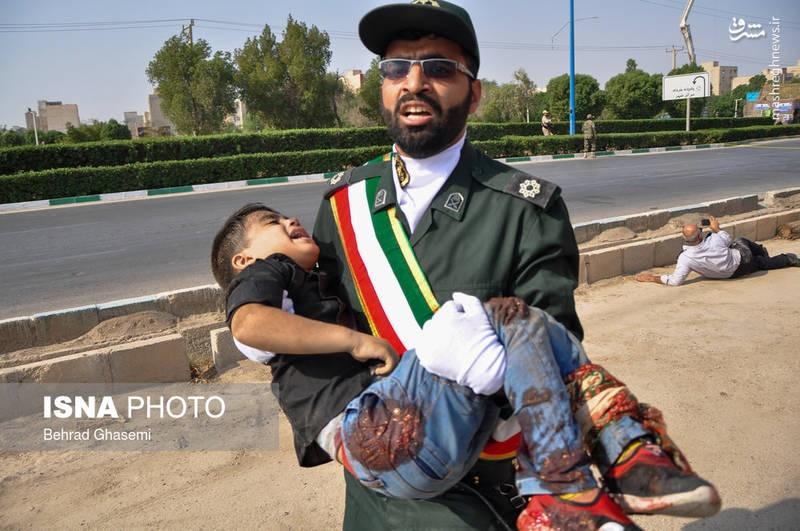 حمله تروریستی به رژه اهواز | شهادت ۲۴ نفر ؛ هلاکت و دستگیری ۴ تروریست
