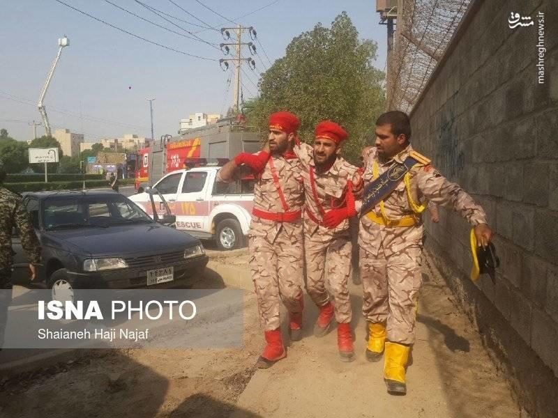 حمله تروریستی به رژه اهواز