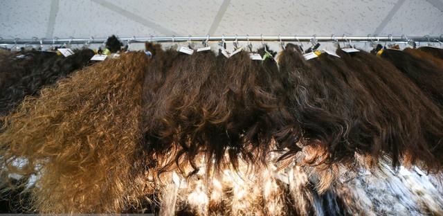 موی سیاه رنگ نشده کیلویی دو و نیم میلیون تومان