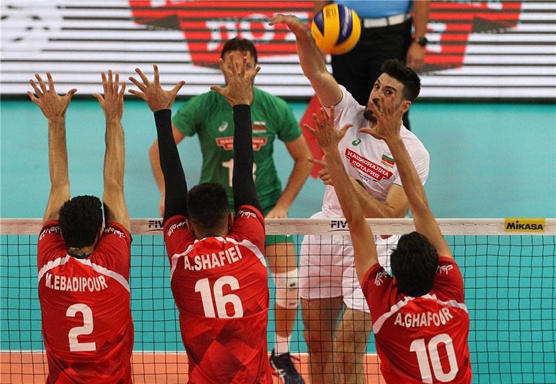 والیبال قهرمانی جهان؛ ایران صفر - بلغارستان ۳