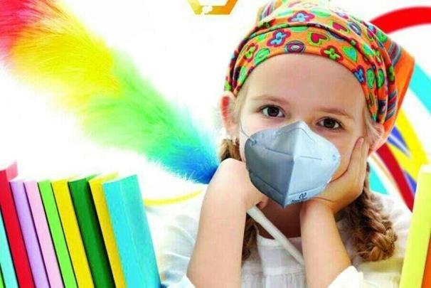 ماسک تنفسی نانویی برای کودکان تولید شد