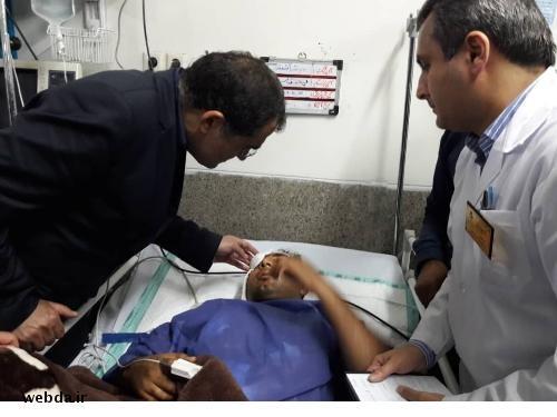 عیادت وزیر بهداشت از مجروحان حادثه تروریستی اهواز