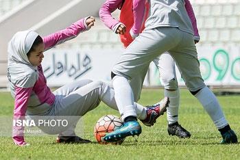 پیروزی دختران فوتبالیست  زیر ۱۹ سال ایران در دیدار دوستانه برابر اردن