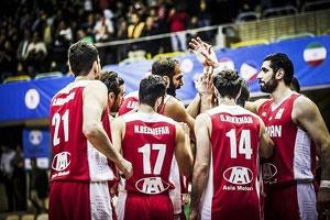 نزول یک پلهای بسکتبال ایران در ردهبندی جدید فیبا