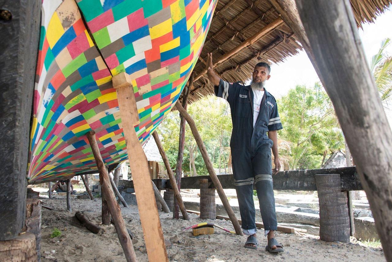 ساخت یک قایق از مواد پلاستیکی بازیافتی