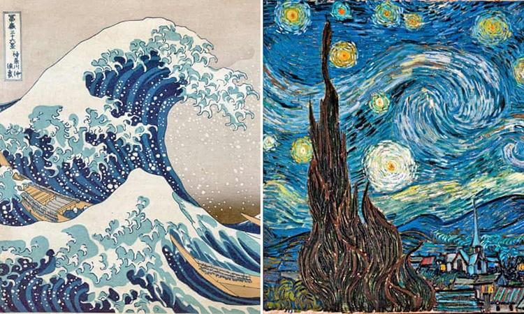 شاهکار ونگوگ کپی از آب درآمد | تاثیرپذیری استاد از نقاش نامدار ژاپنی