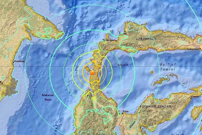 زمین لرزه ۷.۵ ریشتری در اندونزی | مقامات هشدار سونامی صادر کردند