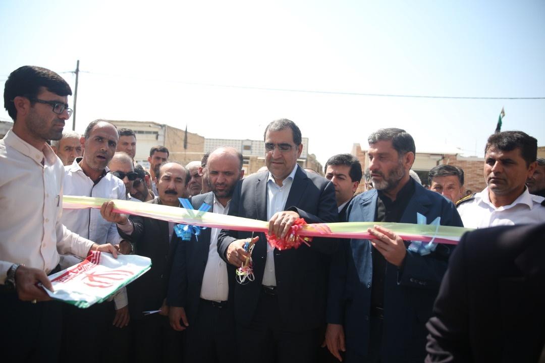 گزارش خبری همشهری آنلاین از سفر وزیر بهداشت به خوزستان